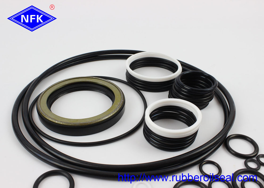 Pump Hydraulic Excavator Seal Kit , KOMATSU Hydraulic Cylinder Kit Rubber Material