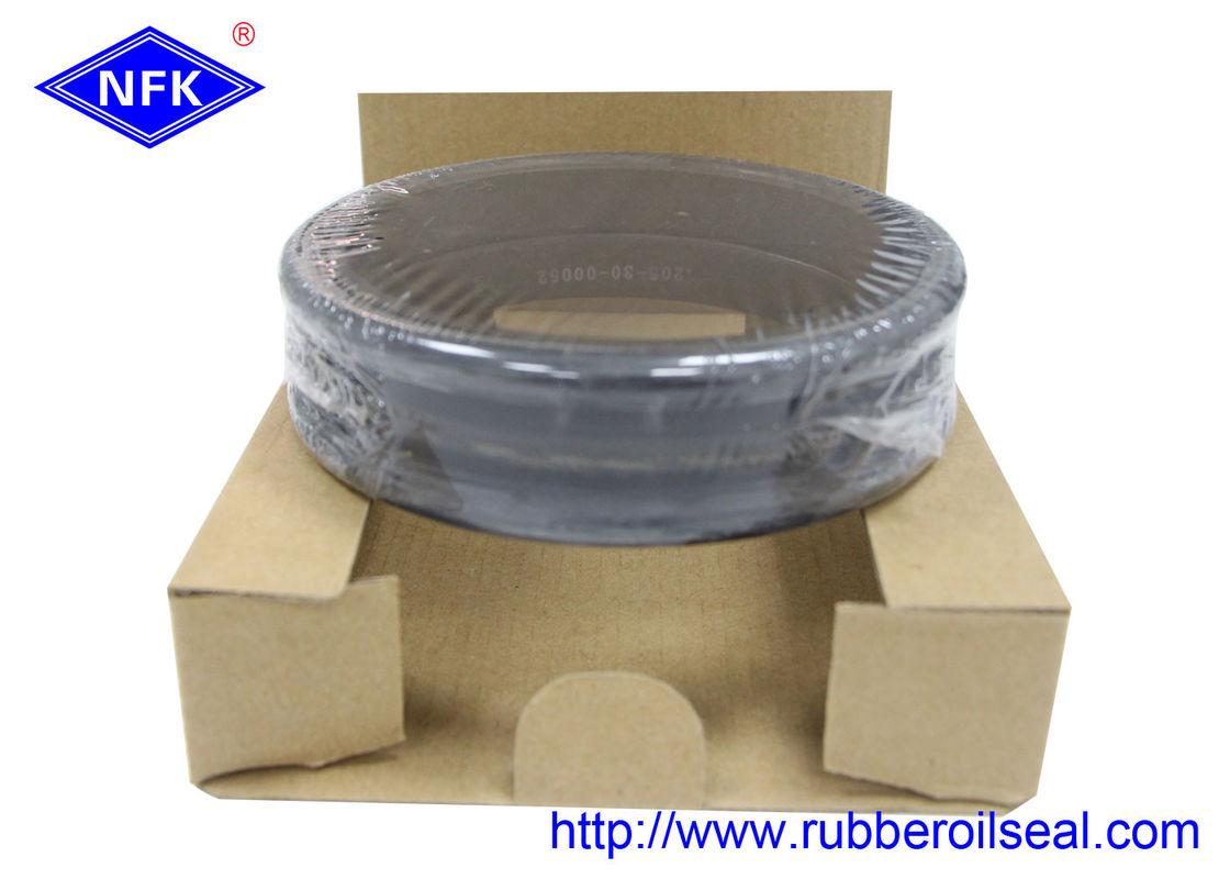 Mechanical Floating Oil Seal , Rubber Shaft Seals 205-30-00052 Long Lifespan